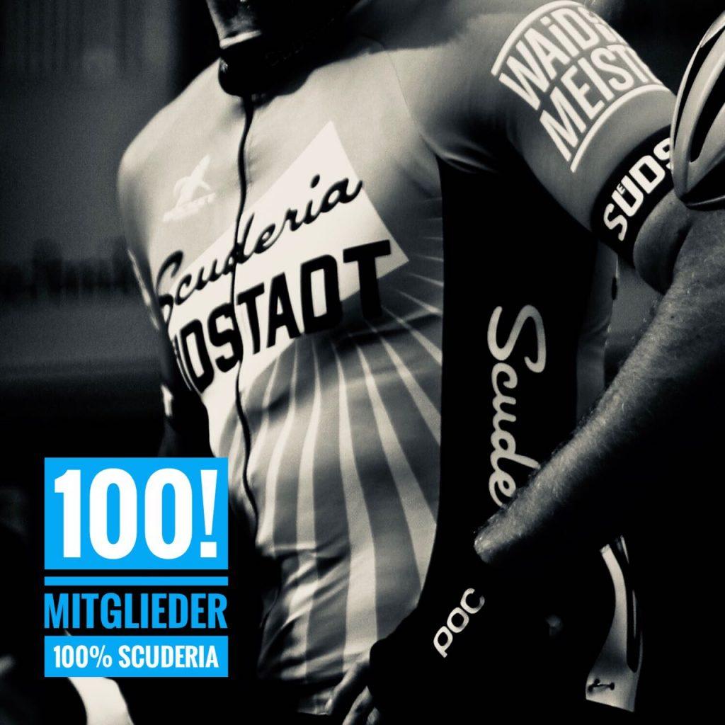 Scuderia Suedstadt feiert 100. Mitglied