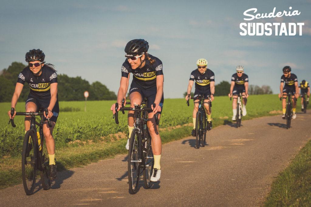 Scuderia Südstadt Frauen im Radsport Rennrad in Köln